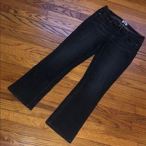 Paige dark wash manhattan jeans